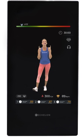 a front view of the reflect touch