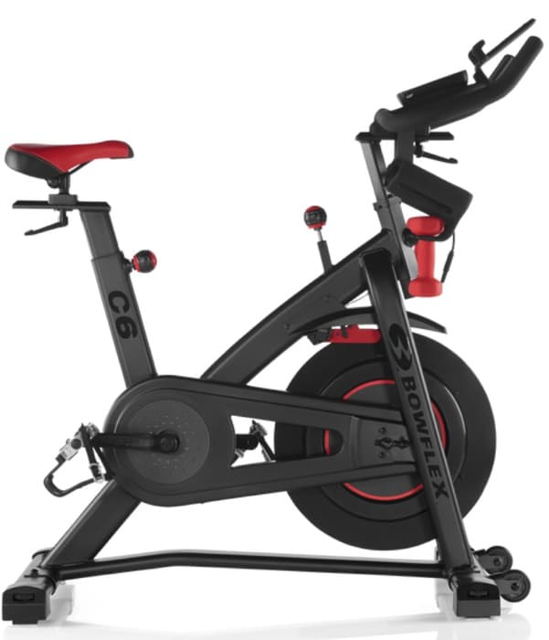 a side shot of the Bowflex C6 bike