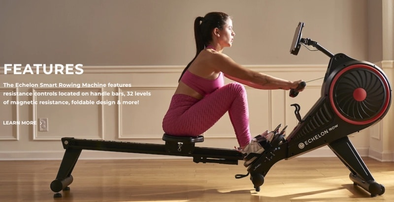 a list of the rower's features