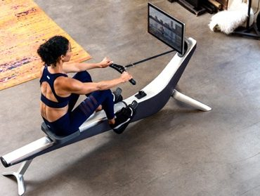 hydrow rowing workout