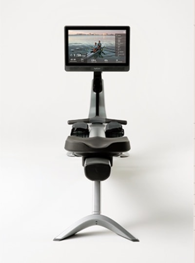 a front profile of the rower