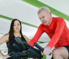 how long should beginners ride a stationary bike