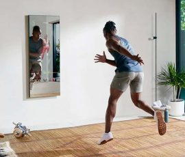 a man works out for the dynasystech comparison of tonal and mirror